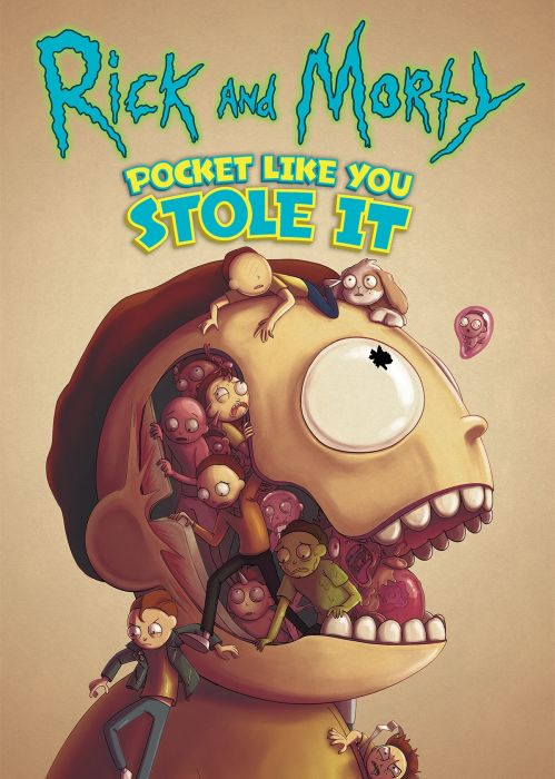 Rick and Morty Pocket Like You Stole It